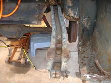 65 mustang rear frame rail