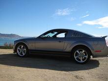 Car at Avila Beach, CA