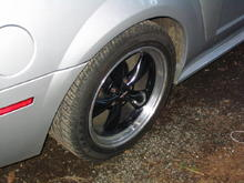 just apic of the bullet wheels im saving up to do a brembo brake upgrade and when i do i will be switching to the fr 500 style wheels but of course going with bigger tires rear will be 305 and the fronts will if i can fit them be 265 or 275