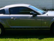 2006 Pony Package Tint: 35% fronts, 20% 1/4s and rear