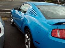 2010 Mustang GT Grabber Blue