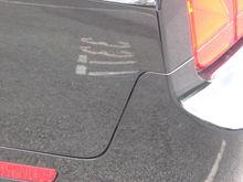 left side rear bumper not fitting flush