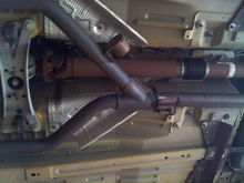 stock Y pipe