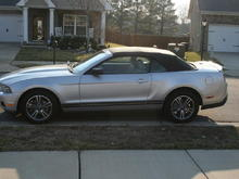 2010 Mustang Convertible 4.0 V-6 Premium Package