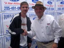 Meeting Jack Roush in Alabama