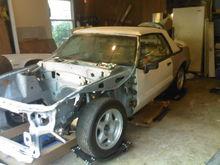 '90 gt convertible(in progress)