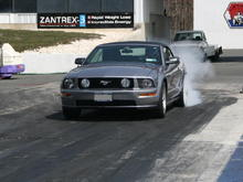 DifeoTrackDay4 10 08 burn out 2a