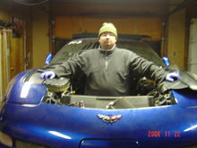 My boy Miguel who was a great help with all of the work on my car.