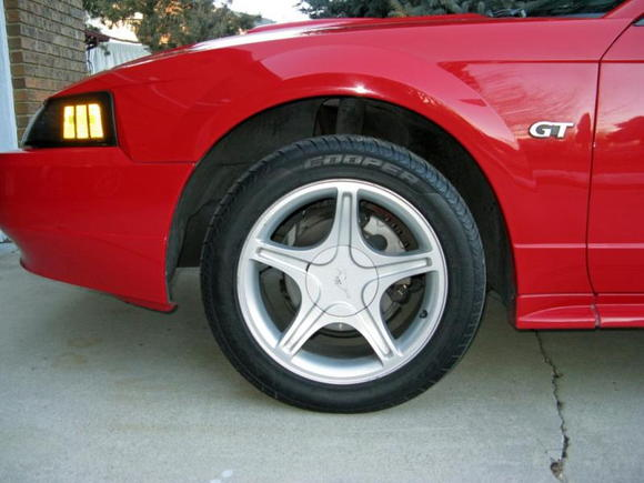 woo look at that ride height :P