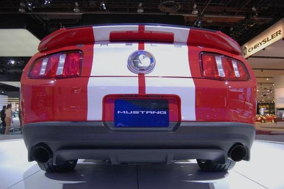 2010 Ford Mustang Shelby GT500 Rear Square Low
