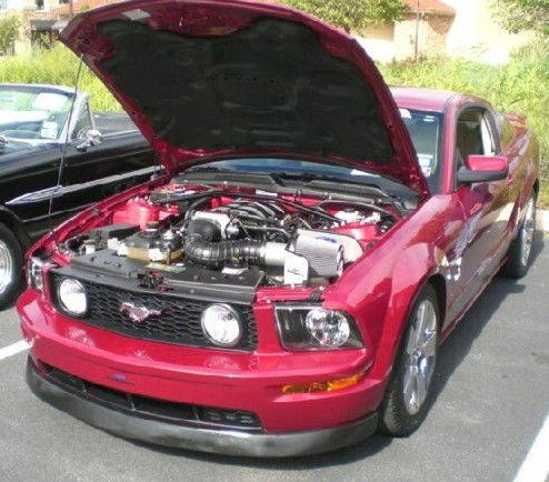 3rd Place for best 2005,2006 Mustang Class at 28th Annual San Antonio Mustang Show Oct 2009.