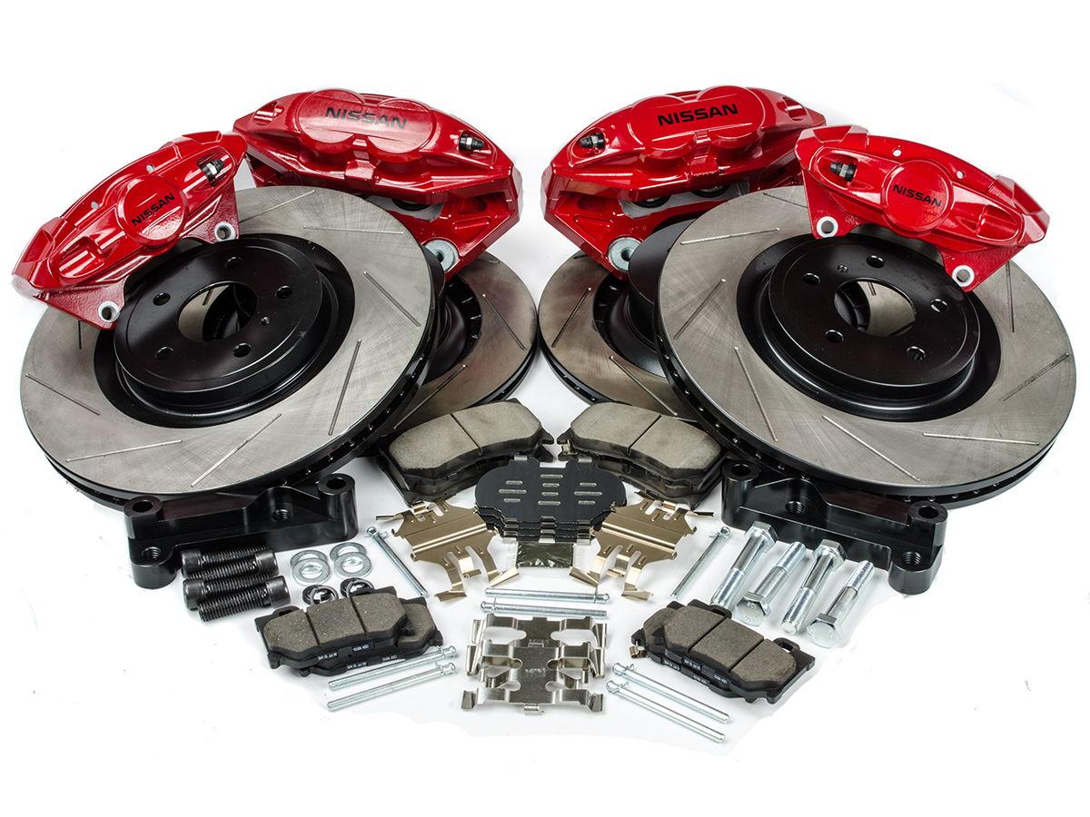 Z1 Motorsports 14 Quot Akebono Big Brake Kit My350z Com