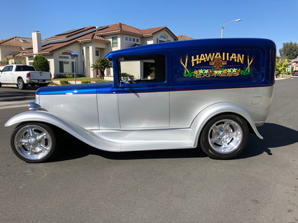 1931 Ford Deluxe Sedan Delivery Barrys Speed Shop