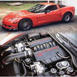 Supercharged 1000hp Corvette