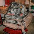 PORSCHE 3.0L ENGINE AND TRANSMISSION CORE  for sale $7,500