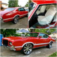 72 OLDS CUTLASS!! LOADED! TRADE FOR SMALL TIRE CAR OR $$$$