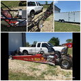 1997 Neil and Parks dragster with trailer