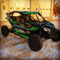 Race can-am Maverick x3 turbo