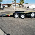 2020 Tilt Deck 22' car trailer