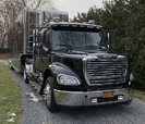Immaculate Goldrush Trailer and Freightliner Sportchassis Tr