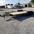 "2020 Big Tex Trailers 70CH 83"" x 18' Flatbed Car Hauler Trai"