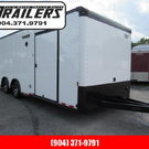2021 Continental Cargo 24ft Black Out Car / Racing Trailer