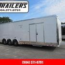 2020 Cargo Mate 32ft Aluminum Frame Car / Racing Trailer