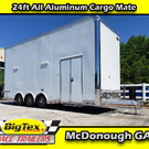= 2019 Cargo Mate 8.5x24 ALL ALUMINUM Stacker w/ Full Floor