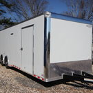 2019 BRAVO STAR 32ft Enclosed Car Trailer