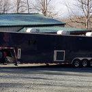 Custom hauler with sleeping quarters