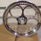 WELD Magnum dragster front wheels