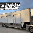 2002 Performax 39' Race trailer with shower and bathroom