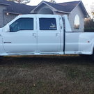 2001 Ford F550 Crew Cab Classy Chassis Truck