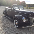 1940 Ford Convertible all steel