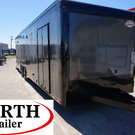 32' ENCLOSED SCREWLESS RACE CAR TRAILER