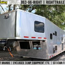 Pro Grade - 2019 Vintage 50' Living Quarters Trailer - Full