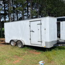 8x16 enclosed trailer
