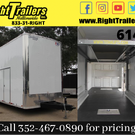 8.5x30 Stacker Race Trailer - Pro Loaded Package - 34,999