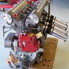 NOS Drake Engineering Offenhauser Offy 110 midget engine