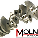 MOLNAR LS & SBC CRANKSHAFTS PREMIUM 4340 FORGED STEEL