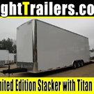 8.5x30 Stacker Race Trailer - Pro Loaded Package - $29,999