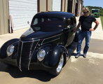 1937 Ford 5 Window Coupe-All Steel