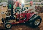 Mini-modified pulling tractor