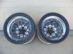 Weld 16x16 Beadlock Rear Wheels FOR SALE!!!