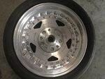 Drag 15x3.5 Polished Wheel