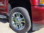 "Four 20"" x 8.5"" Chevrolet Wheels and Four Mickey"