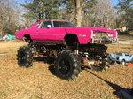 1976 Cadillac eldorado mega car/truck