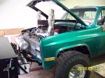 Chevy Prostock Pulling Truck