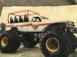 Monster truck ride truck