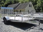 2021 B.E.A.S.T. utility trailer aluminum  6x12